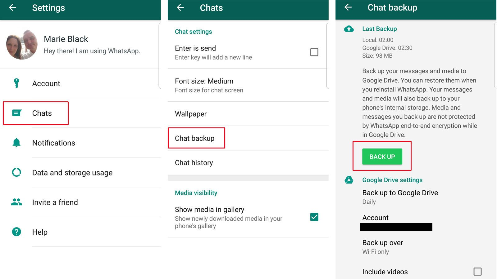 How to Back Up & Restore WhatsApp - TheseSoftware